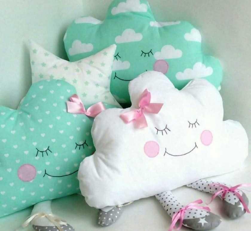 Бортики в кроватку для новорожденных своими руками: инструкция по пошиву качественных мягких бортиков
