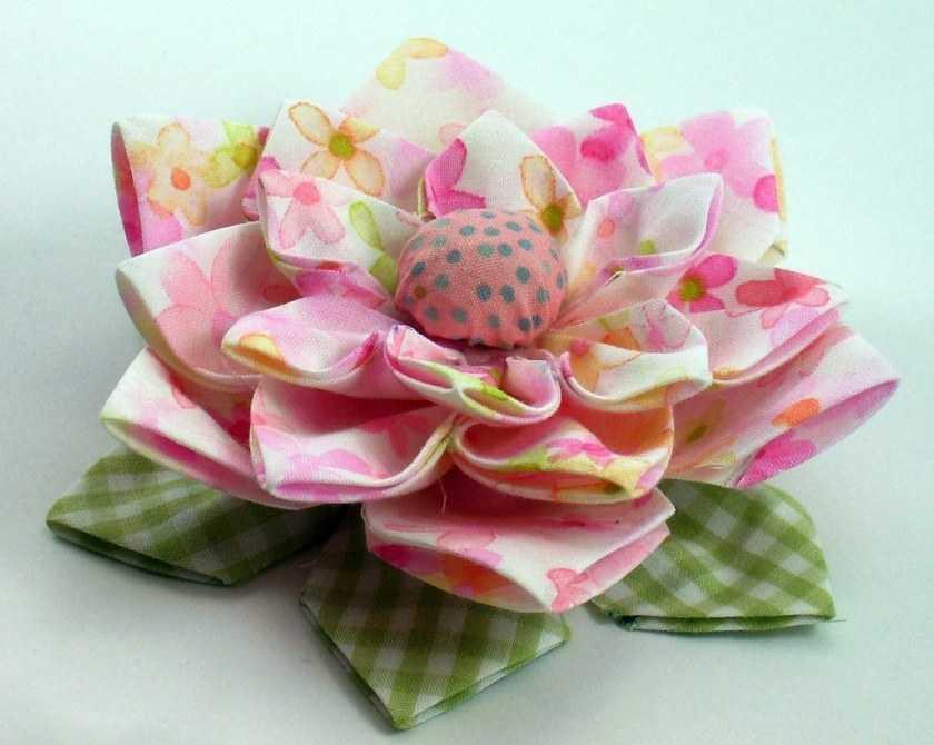 Цветы из ткани своими руками: простой мастер-класс по изготовлению поделки своими руками, схемы и технология работы, идеи оформления