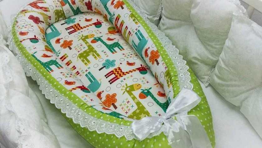 Кокон для новорожденных своими руками — разновидности кокона, выбор материалов изготовления. Пошаговая инструкция и шаблоны для работы своими руками