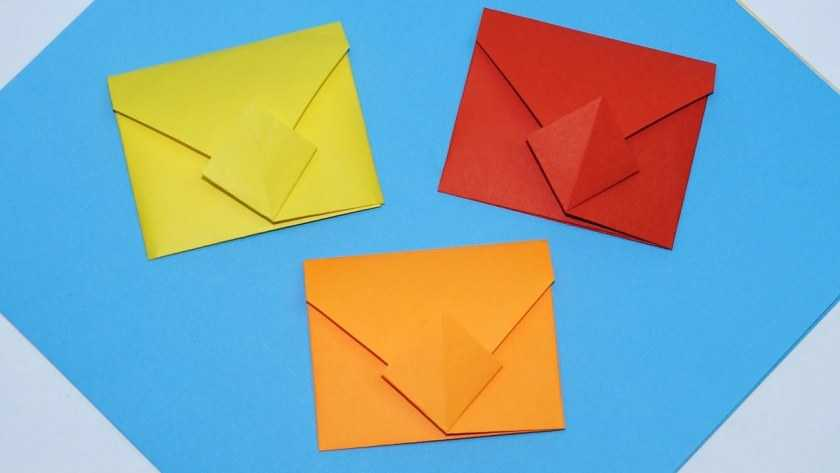 Конверт своими руками: фото креативных идей оформления, способы изготовления конвертов, выбор материалов + пошаговый мастер-класс