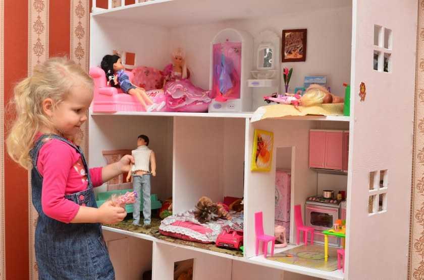 Кукольный домик своими руками — лучшие проекты, схемы и интересные идеи создания кукольных домиков для девочек