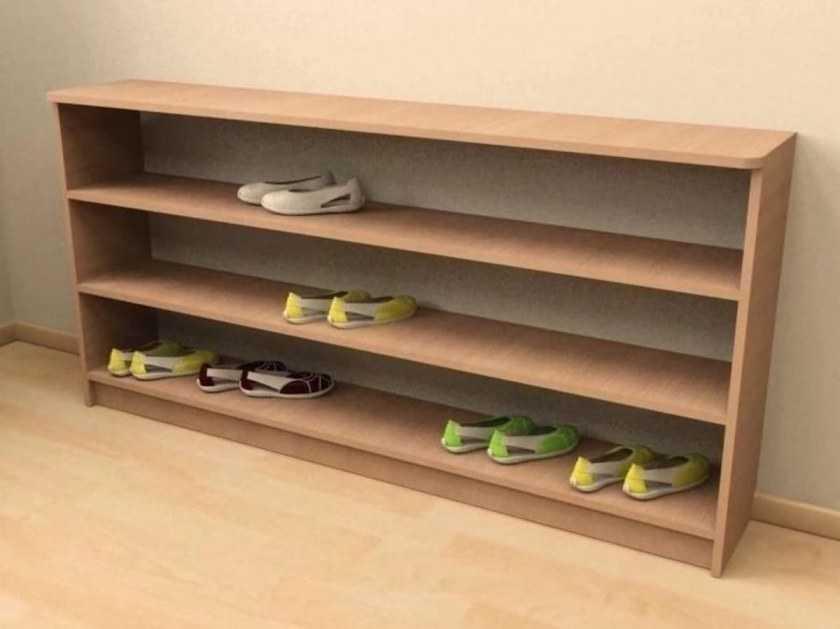 Полка для обуви своими руками — виды конструкций, материалы изготовления, поэтапный мастер-класс с простыми схемами и чертежами