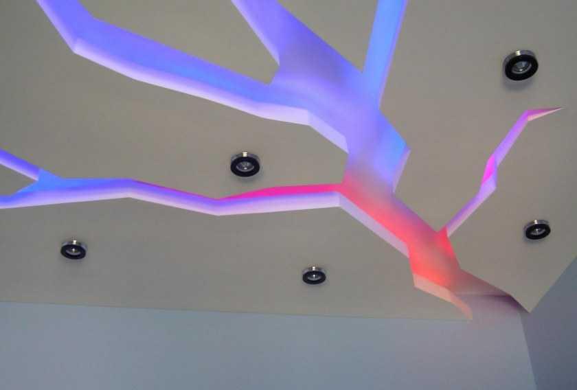 Потолок из гипсокартона своими руками: проекты подвесных потолков и их самостоятельное оборудование