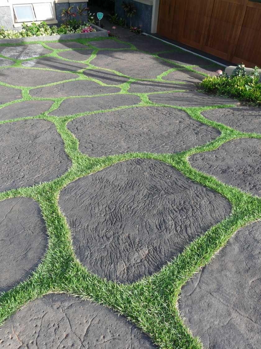 Садовые дорожки своими руками — разновидности материалов выполнения. Пошаговая инструкция по укладке и оформлению своими руками